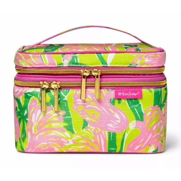 LILLY PULITZER Makeup Bag TRAVEL COSMETIC